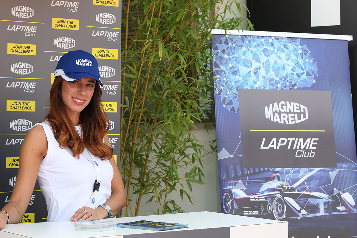 Laptime Club Stand at Monza GP 2017